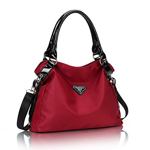 yuanhuihong Waterproof Fashion Women Handbag Cross Body Bag Multifunctional Lightweight Shoulder Bag
