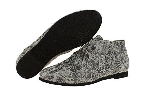 coupe 80720 Gris à Think Chaussures 0 femme 09 lacets classique et axwq05wv