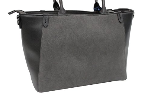 Borsa donna Tommy Barbados l.Magnolia mod.shopping a mano 719 grey