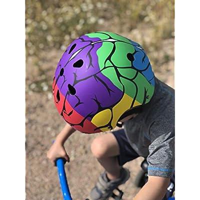 Little Medical School Brain Hat-Ters Kids Bike Helmet - Small : Sports & Outdoors