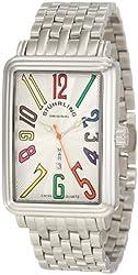 Stuhrling Original Men's 1102B.33112 Symphony Uptown Ozzie XL Elite Swiss Quartz Stainless steel Watch