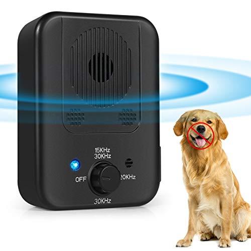 VIIMI Bark Control Device, Upgraded Mini Bark Control Device, Outdoor Anti Barking Ultrasonic Dog Bark Control with 3…