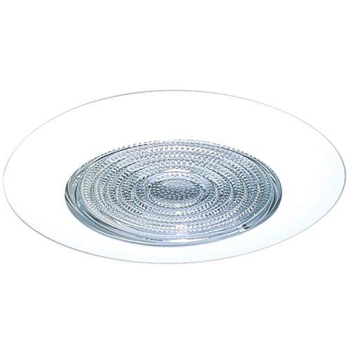 """Fresnel Lens Trim - Elco Lighting EL513KW S5 5"""" Shower Trim with Fresnel Lens and Socket Holder Bracket - EL513K"""