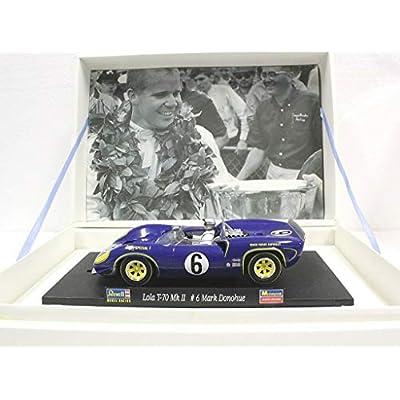 Monogram 1/32 Lola T-70 Driver #6 Mark Donohue Slot Car: Toys & Games
