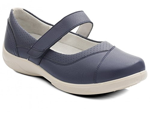 Padders Denise, Women's Low-Top Slippers Navy