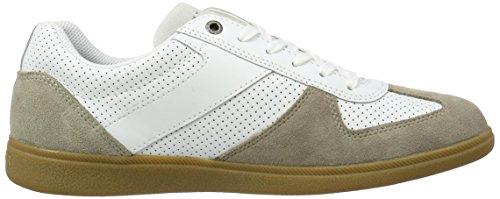 Sneaker Basses 905 Hilfiger 1c3 white Aluminium Tommy Beige Homme D2285anny wB1fxH