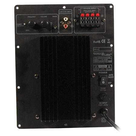 Subwoofer Plate Amplifier Module 120w RMS by MCM
