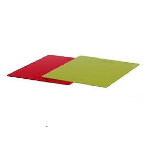 Amazon.com: IKEA DRALLA Rojo y Verde Tabla de cortar ...