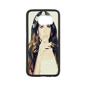 [Lana Del Rey Series] Samsung Galaxy S6 Case Lana Del Rey Flower Crowns, Sexyass - White