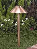 Vista Pro Path and Spread Landscape Lighting PR 2129 Natural Copper