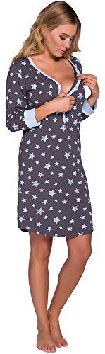 Fashion Notte 0111 Allattamento Blu Camicie Grafite Comet IF Italian per da I8qaITd