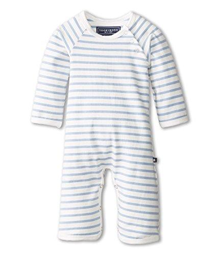 Toobydoo Unisex Chelsea Bootcut Jumpsuit (Infant) Light Blue 18-24 - Jumpsuit Chelsea