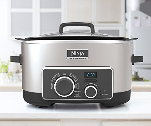 Ninja 4-in-1 Cooking System, Stainless Steel (MC950ZSS) by SharkNinja (Image #1)