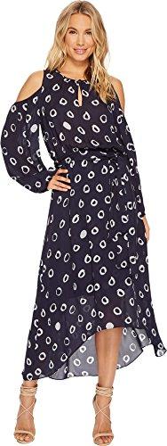 HEATHER Women's Gwyneth Silk Boho Dress Orb Small