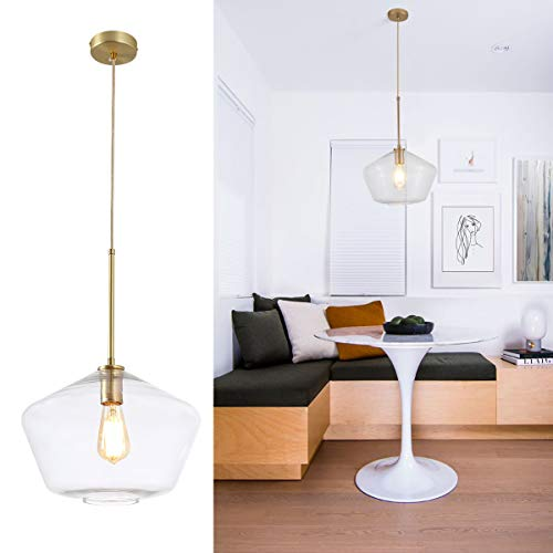 Clear Glass Island Pendant Lights