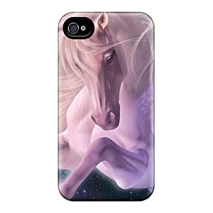 Iphone 4/4s Case Cover A Fantastic Pink Horse Case - Eco-friendly Packaging