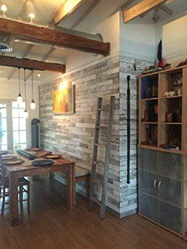 Kitchens With Wood Paneling: Amazon.com: Box Of 40 Square Feet. Whitewash Wall Paneling