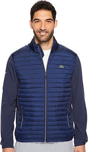 Lacoste Men's Sport Golf Quilted Jacket Navy Blue/Navy Blue 3XL (EUR 58)