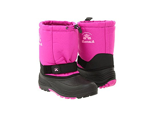 Price comparison product image Kamik Rocket Cold Weather Boot (Toddler/Little Kid/Big Kid),Viola,6 M US Big Kid