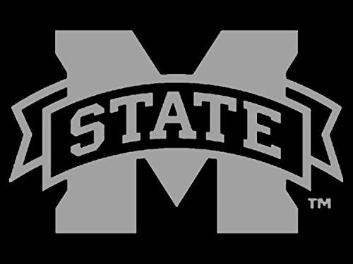 Mississippi State Bulldogs Window (NCAA Mississippi State Bulldogs Window Graphic Pack, Silver, One Size)