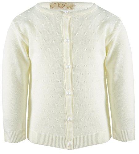 Cream Cardigan Sweater - 5