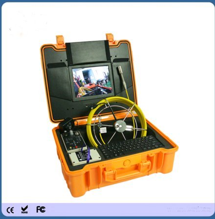 Pushrod System (Kohstar Surveillance waterproof IP68 pipeline detection video camera system with 40m push rod cable)