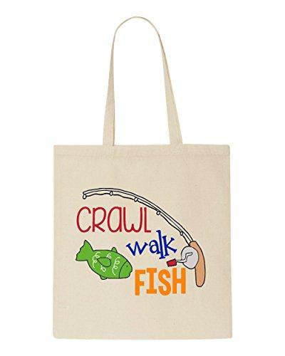 Beige Lessons Shopper Fish Walk Tote Bag Crawl wHn7FqYaxx