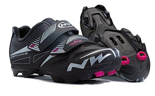 Northwave Elisir Evo Damen MTB Fahrrad Schuhe schwarz 2016: Größe: 42.5