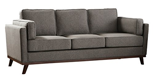Homelegance Bedos Upholstered Living-Room Arm, Blue Fabric Chair, -  - sofas-couches, living-room-furniture, living-room - 41uEdyihvZL -