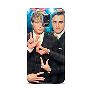 Samsung Galaxy S5 Qul12080VkHD Custom Realistic Mcfly Band Pictures Great Hard Phone Covers -NataliaKrause