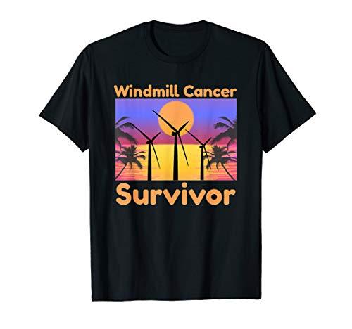 Fun Windmill Cancer Noise Survivor: Awareness T Shirt Gift