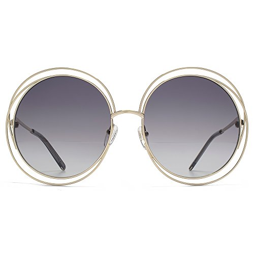 Sunglasses CHLOE CE114S 737 GOLD/TRANSP.GREY/GRAD.GREY - Sunglasses Mens Chloe