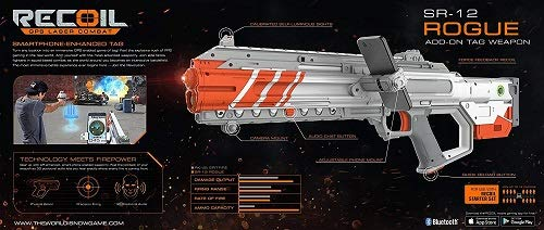 Recoil The World is Now Game, SR-12 Rogue Recoil Weapon for Use with Recoil Starter Set Ages 12+ by Generic (Image #1)