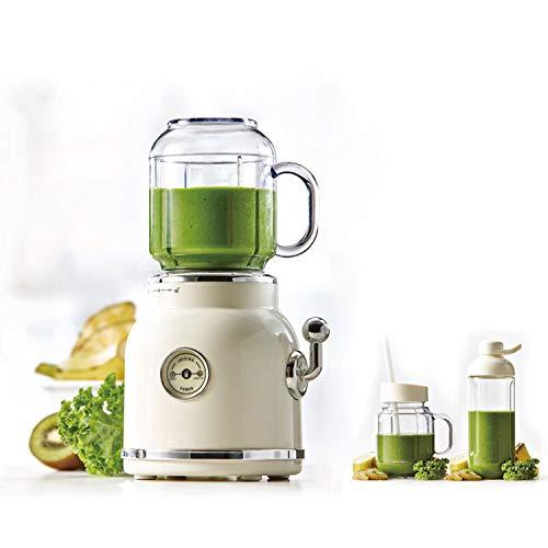 Blender Retro Fruit Juicer Baby Food Milkshake Mixer Multifunction Juice,White,AU,220-240V