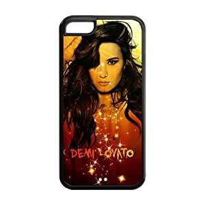 Customzie Your Own Singer Demi Lovato Back Case for iphone5C JN5C-1515