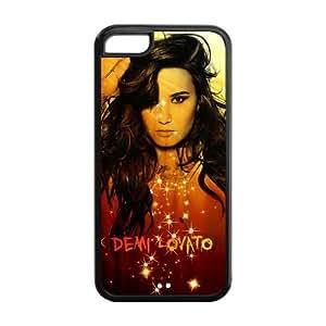 Customzie Your Own Singer Demi Lovato Back Case for iphone5C JN5C-1515