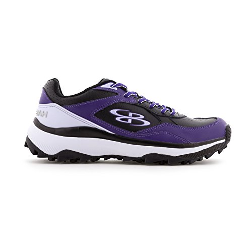 Boombah Women's Endura Turf Black/Purple - Size 9 by Boombah