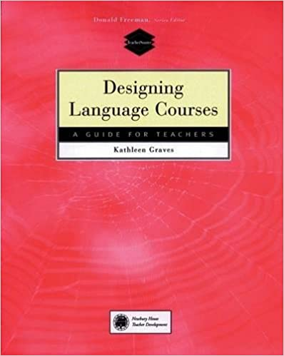 Amazon designing language courses a guide for teachers designing language courses a guide for teachers 1st edition fandeluxe Image collections