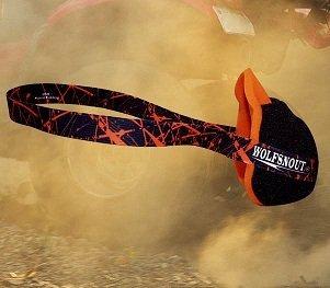 Wolfsnout All Sport Dust Mask Orange