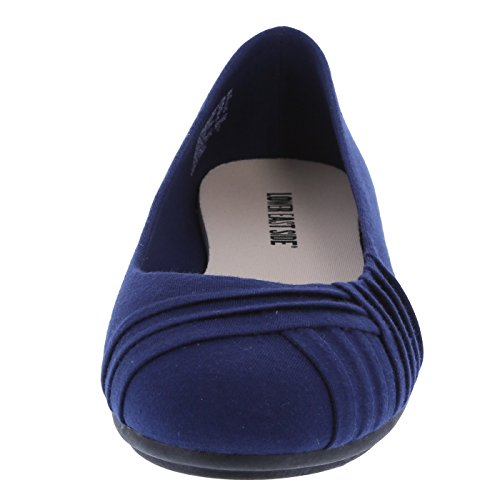 Side Women's Bree East Flat Pleated Navy Lower 8pqOn5xO