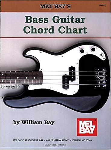 Mel Bay Bass Guitar Chord Chart William Bay 9780871667786 Amazon