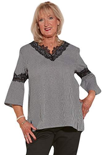 Ovidis Blouse for Women - Black   Katie   Adaptive Clothing - XL