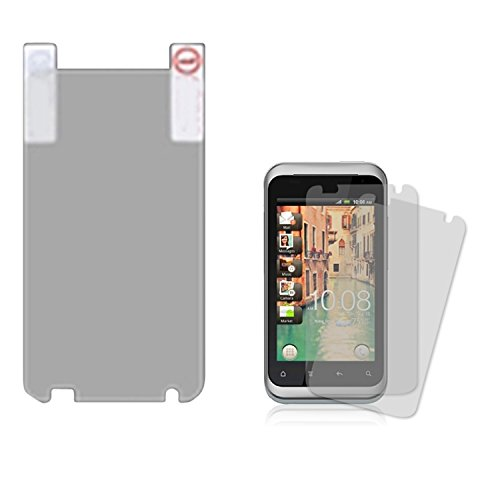 MYBAT HTCADR6330LCDSCPRTW LCD Screen Protector for HTC Rhyme ADR6330 - Retail Packaging - Twin Pack (Pack Rhymes)