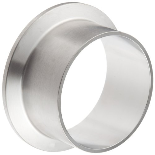 - Dixon L14AM7-R200 Stainless Steel 316L Sanitary Fitting, Long Weld Clamp Ferrule, 2