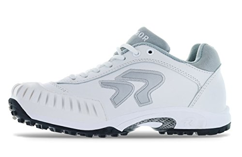 Ringor Dynasty Turf Shoe- Pitching 7.0 White/Silver