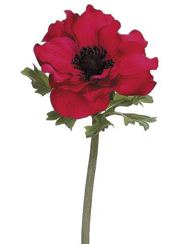 Amazon 15 silk anemone flower spray red pack of 12 home 15quot silk anemone flower spray red pack mightylinksfo