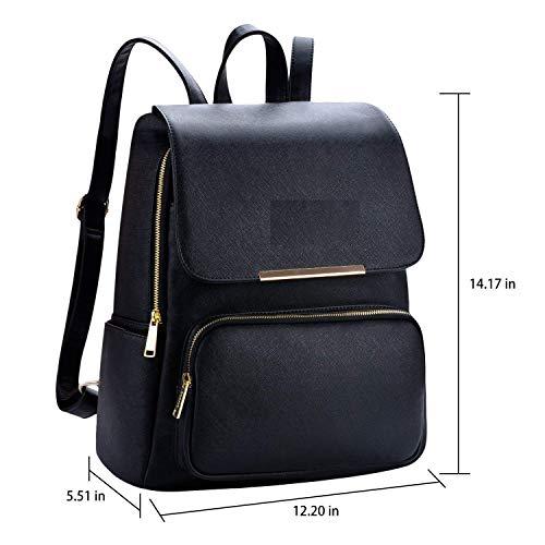 Backpack for women Stylish   women backpack latest   school bag for girls under   College Bag for women (Black)
