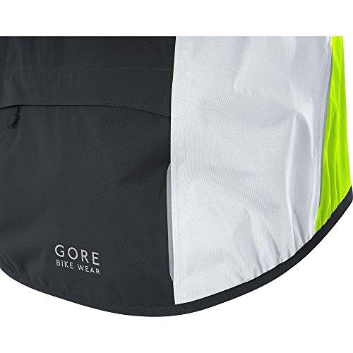 Gore Amarillo Yellow Gore Tex C5 100193 Hombre Impermeable Jacket Ciclismo Gore Blanco Wear Active Neón para Negro Chaqueta Neon OYrOS