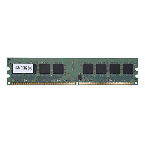 Bewinner 1GB DDR2 RAM, 1GB DDR2 800Mhz 240Pin RAM for Desktop Motherboard Dedicated Memory RAM,Suitable for DDR2 PC2-6400 Desktop Computers,Fully Compatible for Intel/AMD Motherboards ()