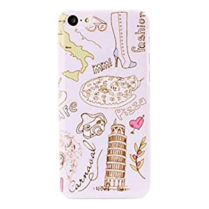 Buy Italy Leaning Tower of Pisa Pattern Plastic Hard Case for iPhone 5C